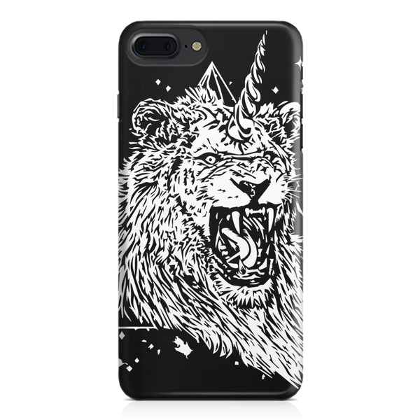 Furious unicorn design Apple Iphone 7 Plus  printed back cover