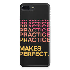 Practise makes perfect design Apple Iphone 7 Plus  printed back cover
