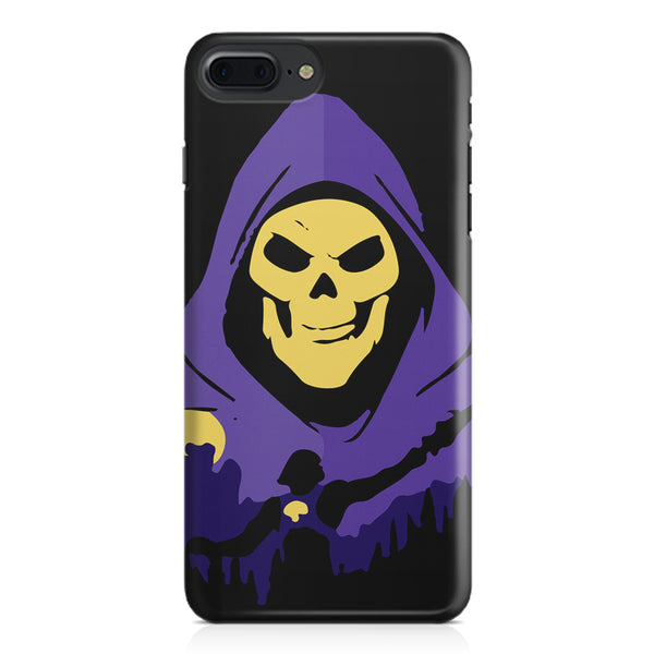 Evil looking skull design Apple Iphone 7 Plus  printed back cover
