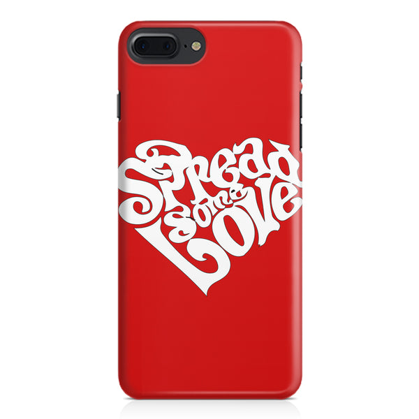 Spread some love design Apple Iphone 7 Plus  printed back cover
