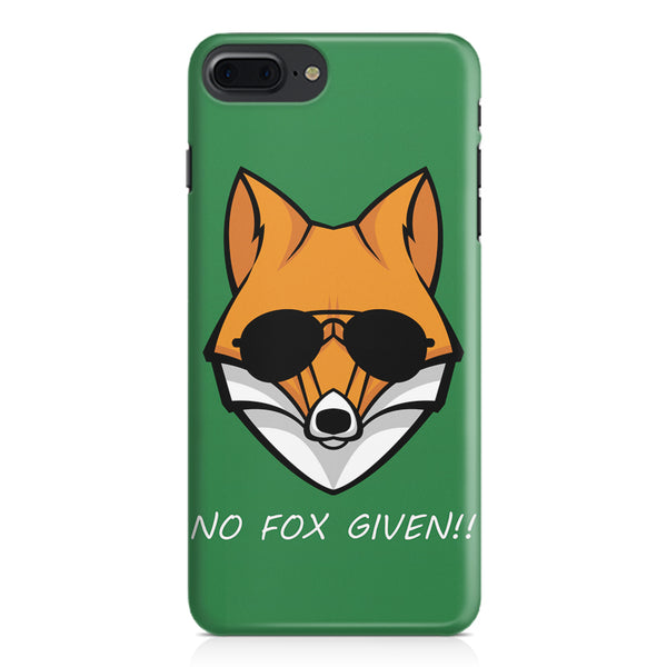 No fox given design Apple Iphone 7 Plus  printed back cover