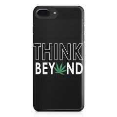 Think beyond weed design Apple Iphone 7 Plus  printed back cover
