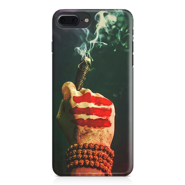 Smoke weed (chillam) design Apple Iphone 7 Plus  printed back cover