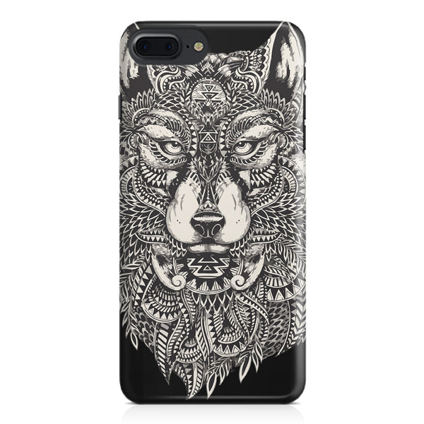 Fox illustration design Apple Iphone 7 Plus  printed back cover