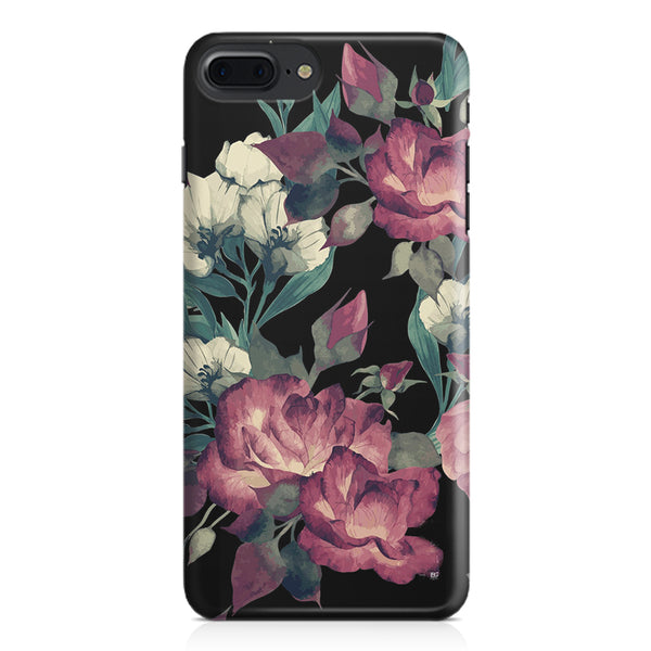 Abstract colorful flower design Apple Iphone 7 Plus  printed back cover