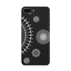 Ethnic design pattern Apple Iphone 8 plus printed back cover