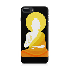Buddha sketch design Apple Iphone 8 plus printed back cover