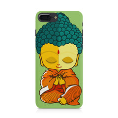 Buddha caricature design Apple Iphone 8 plus printed back cover
