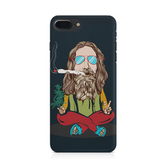 Smoking high design Apple Iphone 8 plus printed back cover