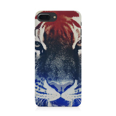 Pixel Tiger Design Iphone 8 plus hard plastic printed back cover.