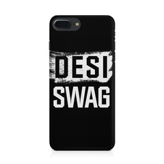 Desi Swag Iphone 8 plus hard plastic printed back cover.