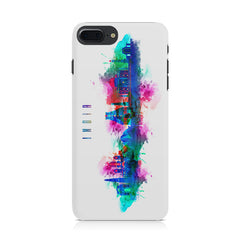 Incredible India Design Iphone 8 plus hard plastic printed back cover.
