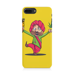 Sardar dancing with Beer and Marijuana  Iphone 8 plus hard plastic printed back cover.