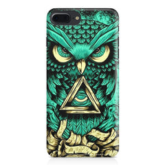Owl Art design,  Apple Iphone 7 Plus  printed back cover