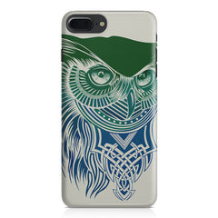 Owl Sketch design,  Apple Iphone 7 Plus  printed back cover