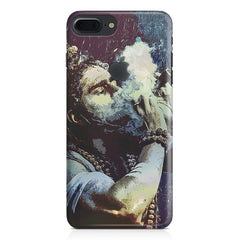Smoking weed design Apple Iphone 7 plus with Apple cut  printed back cover