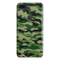Military design design Apple Iphone 7 plus with Apple cut  printed back cover