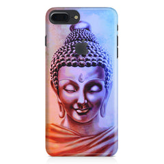 Lord Buddha design Apple Iphone 7 plus with Apple cut  printed back cover