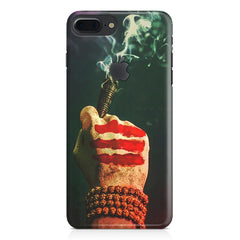Smoke weed (chillam) design Apple Iphone 7 plus with Apple cut  printed back cover