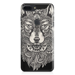 Fox illustration design Apple Iphone 7 plus with Apple cut  printed back cover