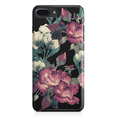Abstract colorful flower design Apple Iphone 7 plus with Apple cut  printed back cover