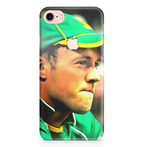 AB de Villiers South Africa Iphone 7 with apple cut printed back cover