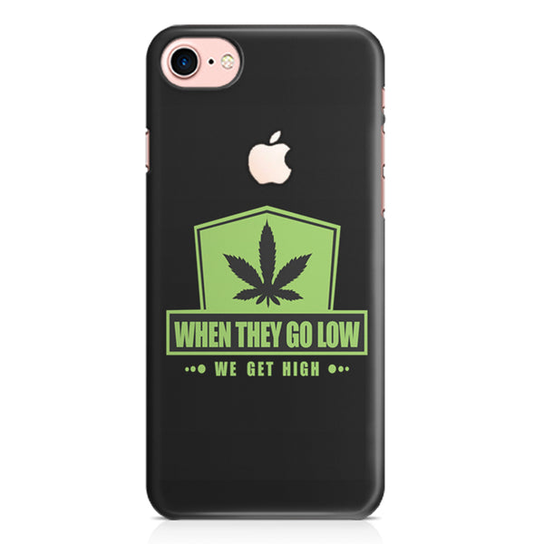 Always high design, Iphone 7 with apple cut printed back cover