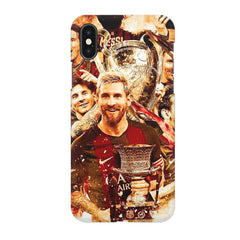 Messi  design,  Apple Iphone X printed back cover