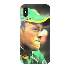 AB de Villiers South Africa  Apple Iphone X printed back cover