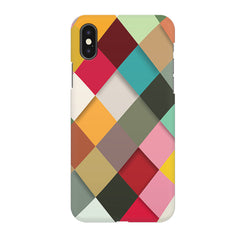 Graphic Design diamonds   Apple Iphone X printed back cover