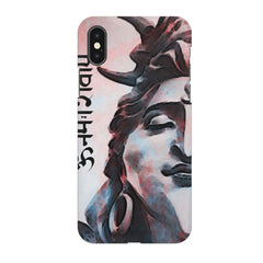 Shiva face   Apple Iphone X printed back cover