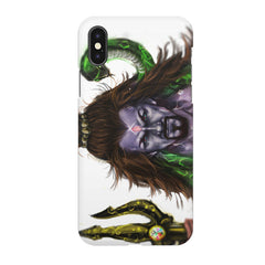 Shiva With Trishul  Apple Iphone X printed back cover