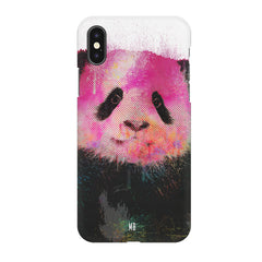 Polar Bear portrait design Iphone X hard plastic printed back cover.