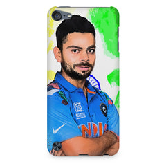 Virat Kohli Oil Painting India design,  Apple Ipod Touch 6  printed back cover