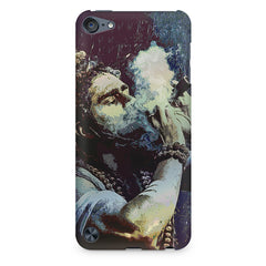 Smoking weed design Apple Ipod Touch 6  printed back cover