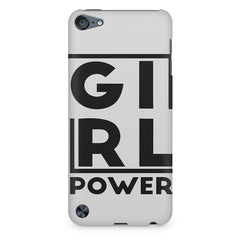Girl power deisgn Apple Ipod Touch 6  printed back cover