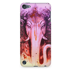 Lord Ganesha design Apple Ipod Touch 6  printed back cover