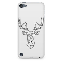 Geometrical reindeer design Apple Ipod Touch 6 printed back cover