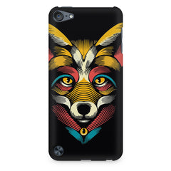 Fox sketch design Apple Ipod Touch 6 printed back cover