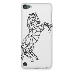 Geometrical horse design Apple Ipod Touch 6 printed back cover