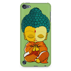 Buddha caricature design Apple Ipod Touch 6 printed back cover