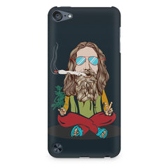 Smoking high design Apple Ipod Touch 6 printed back cover