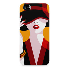Classy girl  design,  Apple Iphone 4/4s printed back cover