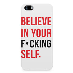 Believe in your Self Apple Iphone 4/4s printed back cover