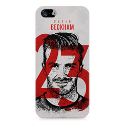 David Beckhan 23 Real Madrid design,  Apple Iphone 4/4s printed back cover