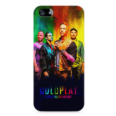 Coldplay Colorful Album Art A Head Full of Dreams design,  Apple Iphone 4/4s printed back cover