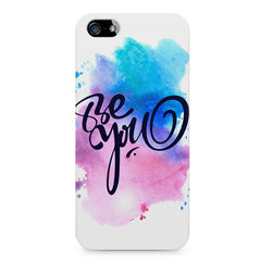 Be yourself design Apple Iphone 4/4s printed back cover