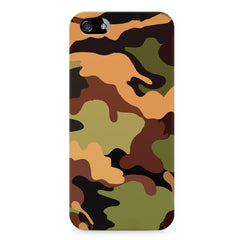 Camoflauge design Apple Iphone 4/4s printed back cover