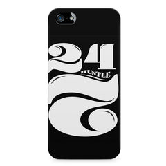 Always hustle design Apple Iphone 4/4s printed back cover