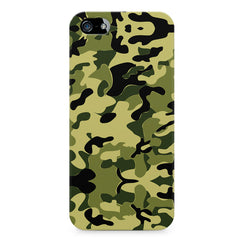 Camoflauge army color design Apple Iphone 4/4s printed back cover
